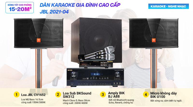 Dàn karaoke gia đình JBL 2021-04