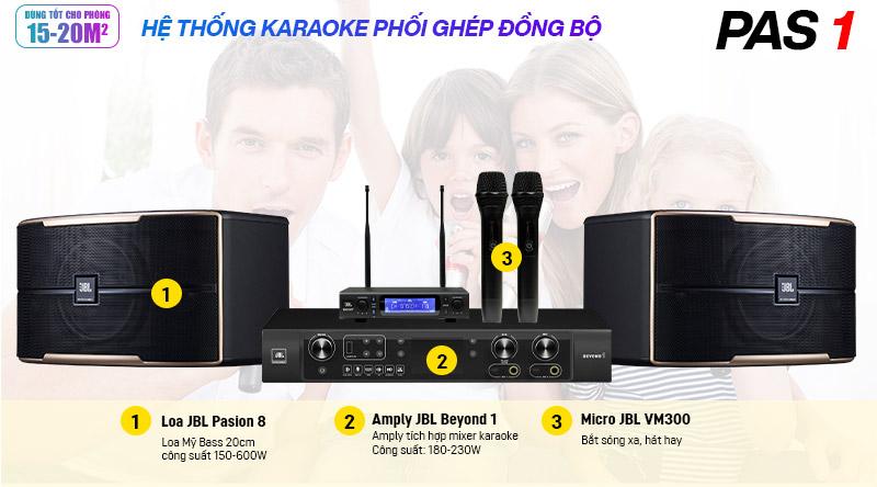 Dàn karaoke JBL PAS 1