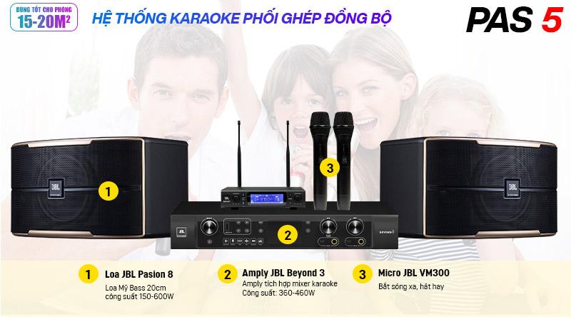 Dàn karaoke JBL PAS 5