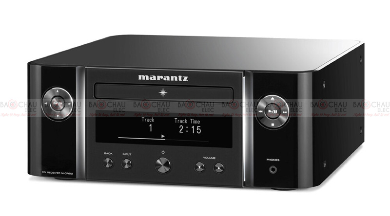 Đầu CD + Network Audio Player + Amply Marantz M-CR612