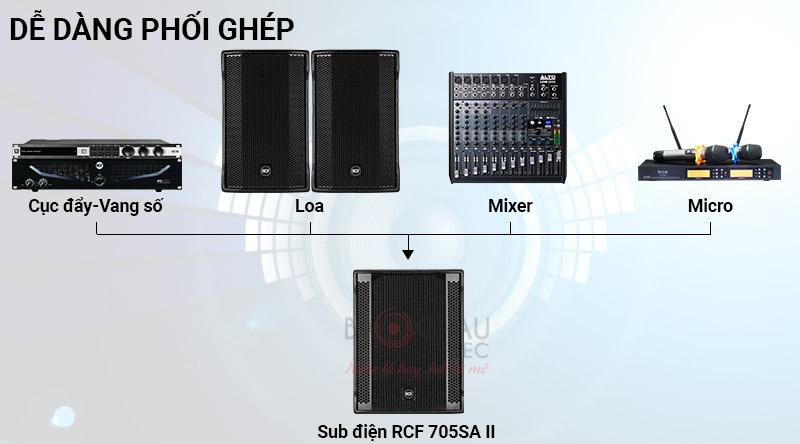 Loa sub điện RCF 705AS II