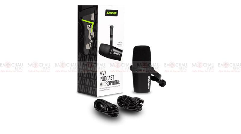 Micro Shure MV7-K
