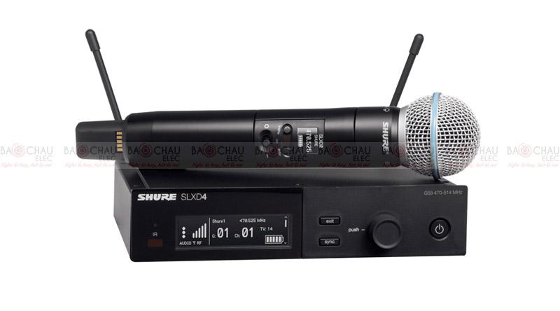 Micro Shure SLXD24A/B87A