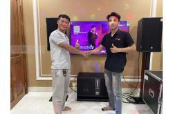 Lắp đặt dàn karaoke anh Nam tại Biên Hòa (CMAX 4112, Crown T7, R300+, VM620A, W88Plus, VIP3000..)