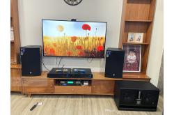 Lắp đặt dàn karaoke chị Tuyền tại TP HCM (EMAX 3112, VM620A, VM420A, BJ-W66, BPR8500, UGX12 Luxury)