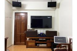 Lắp đặt dàn karaoke cô Hưng tại Hà Nội (EMAX 3110, Crown T7, KX180, A120P, VM300, 4TB Plus, BKSound M8...)