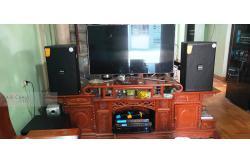 Lắp đặt dàn karaoke gia đình anh Bắc tại Hưng Yên (Domus DK612S, VM820A, BPR-8500, SW612-B, BJ-U550)