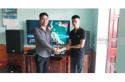 Lắp đặt dàn karaoke gia đình anh Chiến tại Nam Định (Alto AT2000, TX800Q, X5 Plus, SW612, UGX12)