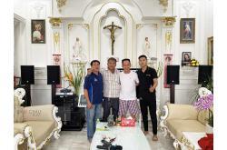 Lắp đặt dàn karaoke gia đình anh Chính tại Đồng Nai (RCF 4110, VM420A, VM820A, R300, W66Plus, VM300)