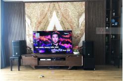 Lắp đặt dàn karaoke gia đình anh Ngọc tại Hà Nội (PRX412M, Crown T7, BPR8500, SPL120, VM200...)