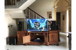 Lắp đặt dàn karaoke gia đình anh Đại tại Hải Dương (JBL XS10, Crown T5, BPR-8500, SW612C, UGX12)