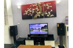Lắp đặt dàn karaoke gia đình anh Đông tại Hà Nội (JBL XS10, BKSound DKA 8500, JBL A120P)