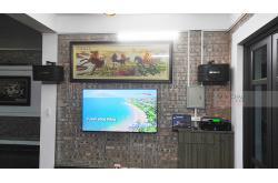 Lắp đặt dàn karaoke gia đình anh Đức tại Hà Nội (BIK BJ-S668, APP MZ-46, DSP9000 Plus, U900Plus New)