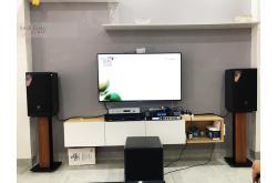 Lắp đặt dàn karaoke gia đình anh Dương tại Hà Nội (JBL MTS10, MZ-66, X6 Luxury, SW512-B, U500)