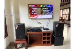 Lắp đặt dàn karaoke gia đình anh Hà tại Hưng Yên (JBL MTS12, MZ-106, KX180, A120P, VM300, 4TB Plus)