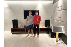 Lắp đặt dàn karaoke gia đình anh Hùng tại Đồng Nai (CMAX 4112, Crown T7, K9900II, 705-ASII, VM200, 4TB...)