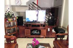 Lắp đặt dàn karaoke gia đình anh Kiên tại Vĩnh Phúc (Domus DP6120, VM620A, UGX12)