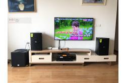 Lắp đặt dàn karaoke gia đình anh Kính tại Hà Nội (Domus DP6100, APP MZ46, X5 Plus, SW512, UGX12)