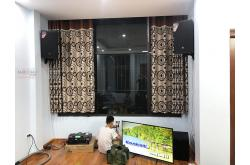 Lắp đặt dàn karaoke gia đình anh Linh tại Hà Nội (JBL MTS12, VM840A, KX180, R120SW, UGX12 Luxury)