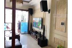 Lắp đặt dàn karaoke gia đình anh Minh tại Hà Nội (Alto AT1000, BKSound DKA 6500, SW312-B)