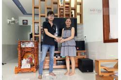 Lắp đặt dàn karaoke gia đình anh Minh tại Vũng Tàu (JVL CV1652T, VM820A, DSP9000 Plus, A100P, UGX12)