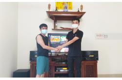 Lắp đặt dàn karaoke gia đình anh Nghĩa tại Hà Nội (BMB 300SE, VM420A, X6 Luxury, SW100, UGX12 Gold)