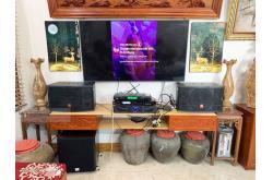 Lắp đặt dàn karaoke gia đình anh Thạo tại Nam Định (JBL CV1052T, Crown Xli1500, X5 Plus, SW512-B...)