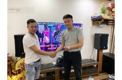 Lắp đặt dàn karaoke gia đình chị Phương tại Hà Nội (CMAX 4110, Crown T7, KX180, 705-ASII, VM200...)