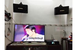Lắp đặt dàn karaoke gia đình chị Quyên tại TP HCM (BIK BJ-S1010, BKSound DKA 8500)