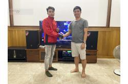 Lắp đặt dàn karaoke gia đình chị Sen tại Đồng Nai (JBL MTS12, Crown T5, VM420A, KX180, W66, UGX12)