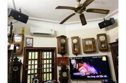 Lắp đặt dàn karaoke gia đình chú Cường tại Hà Nội (JBL XS08, Crown T5, KX180, R100SW, BJ-U500)