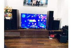 Lắp đặt dàn nghe nhạc cho anh Phương tại Hà Nội (Klipsch RP8000F, Denon PMA-2500Ne, NS-SW300)