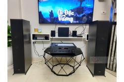 Lắp đặt dàn nghe nhạc cho anh Sỹ tại Hà Nội (Klipsch RP6000F, Yamaha R-N402)