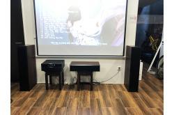 Lắp đặt dàn xem phim – nghe nhạc cho anh Hoàng tại Hà Nội (Klipsch 6000F, RX A1080, RP-402S, RP-404C)