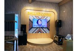 Lắp đặt hệ thống âm thanh quán Cafe Ballad tại TP Hòa Bình