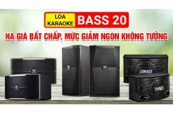Loa karaoke bass 20 hạ giá bất chấp, mức giảm ngon không tưởng