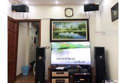 Nâng cấp dàn karaoke gia đình anh Thanh tại Hà Nội (JBL XS08, BPR-8500, UGX12 Plus Luxury)