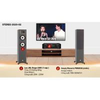 Dàn nghe nhạc 2 kênh Stereo 2020-02 (JBL STAGE A180+Marantz PM8006)