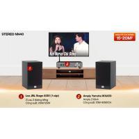 Dàn nghe nhạc 2 kênh Stereo NN40 (JBL Stage A130 + Yamaha WXA50)