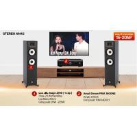 Dàn nghe nhạc 2 kênh Stereo NN42 (JBL Stage A190 + Denon DRA 1600NE)
