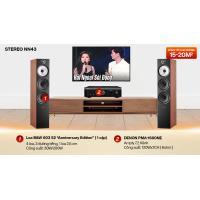 Dàn nghe nhạc 2 kênh Stereo NN43 (B&W 603 S2 Anniversary Edition + Denon PMA 1600NE)