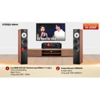 Dàn nghe nhạc 2 kênh Stereo NN44 (B&W 603 S2 + Marantz PM8006)