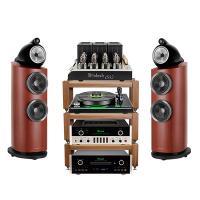 Dàn nghe nhạc Hi-End 24 (B&W 803 D3 + Mcintosh C22 + Mcintosh MT2+ Mcintosh MC1502 + McIntosh MCD600)