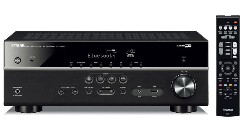 Amply Yamaha RX-V385 (Black)
