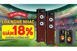 Deal chất mừng Euro: Loa nghe nhạc giảm 18% không cưỡng nổi