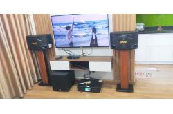 Lắp đặt dàn karaoke gia đình anh Chiến tại Hà Nội (BMB 300SE, BKSound DKA 6500, JBL A100P)