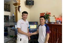 Lắp đặt dàn karaoke gia đình anh Hải tại Hà Nội (BMB 800SE, Pasion 10, VM840A, X6 Luxury, SW612B...)