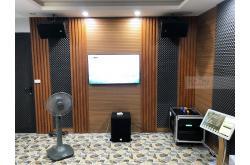 Lắp đặt dàn karaoke gia đình anh Hoan tại Hà Nội (EMAX 3110, VM620A, X6 Luxury, SW612B, UGX12...)