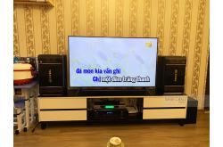 Lắp đặt dàn karaoke gia đình anh Quân tại Hà Nội (BIK BJ-S768, BJ-A88, BCE UGX12)