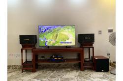 Lắp đặt dàn karaoke gia đình anh Tuân tại Hà Nội (BIK BJ-S668, Bksound DP3600, SW312C, U900 Plus)